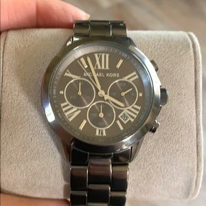 Michael Kors dark grey watch ! Chronometer